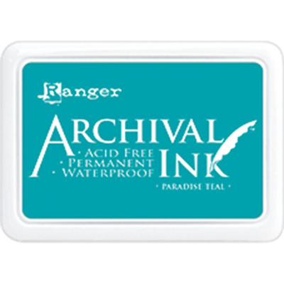 Archival Ink: Paradise Teal
