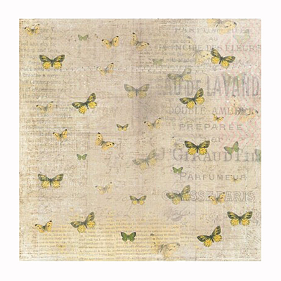 "6x6"" sheet: Reprint - butterflies"