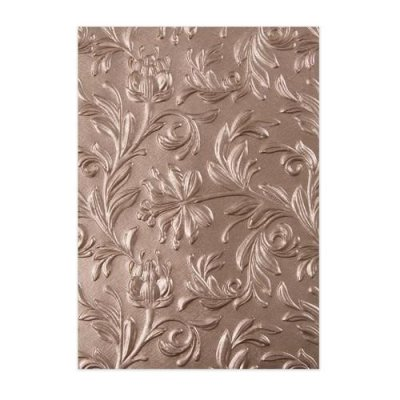 3d Tim Holtz embossing folder: Botanical