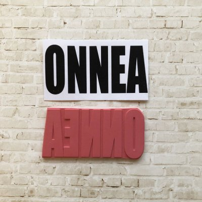 GA text stamp: ONNEA (Finnish)