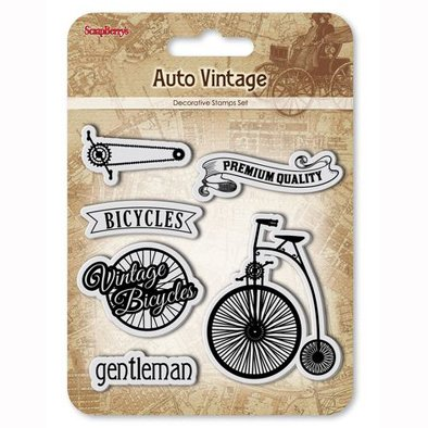 ScrapBerry's -leimasinsetti: Auto Vintage - Bicycles