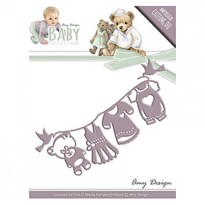 Amy Design -stanssi: Baby clothes
