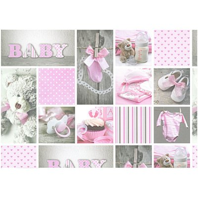 Cardstock A4: Baby, pink