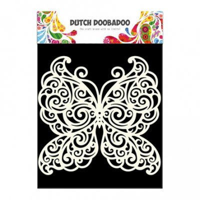 Dutch Doobadoo sabluuna: Butterfly - perhonen