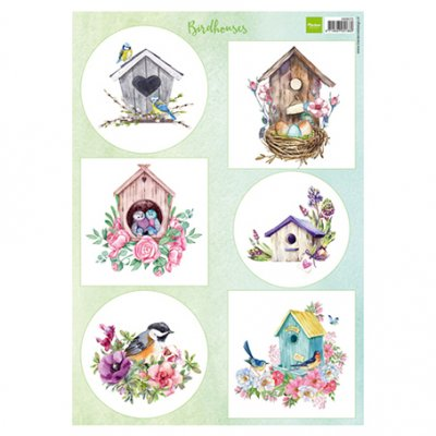 A4 MD sheet: Birdhouses