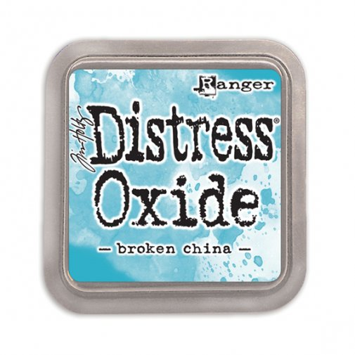 Distress Oxide -mustetyyny: Broken China