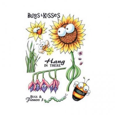 CE stamp set: Bugs & Flowers 3