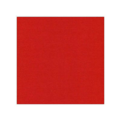 "Card Deco cardstock 12x12"": Christmas red"
