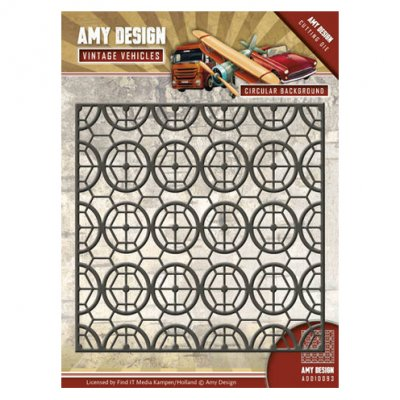 Amy Design -stanssi: Circular Background