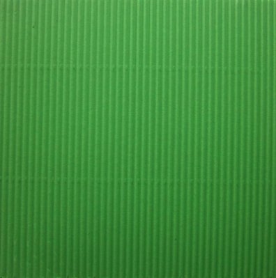 "6x6"" corrugated sheet: green"