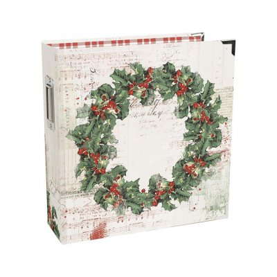 "Albumisetti 6x8"", Simple Stories: Country Christmas"