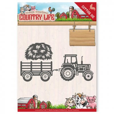 Yvonne Creations dies: Country Life Tractor