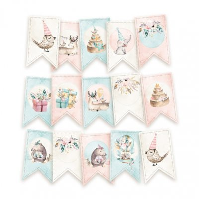 Piatek tagit/viirit: Cute & Co, 15 kpl
