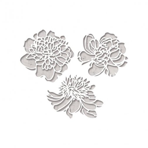 Sizzix Thinlits stanssisetti: Cutout blossoms