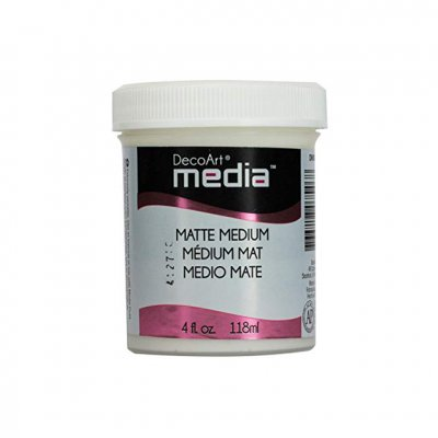 Matte Medium, 118 ml - DecoArt