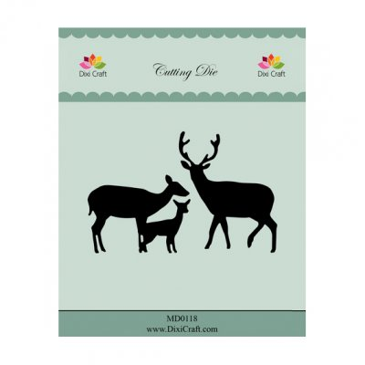 Dixi Craft -stanssit: Deer Family
