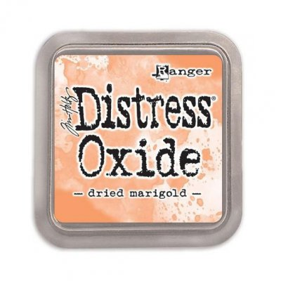 Distress Oxide -mustetyyny: Dried Marigold