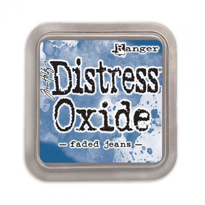 Distress Oxide -mustetyyny: Faded Jeans