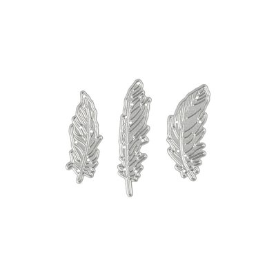 Die set: Small feathers, 3 pcs