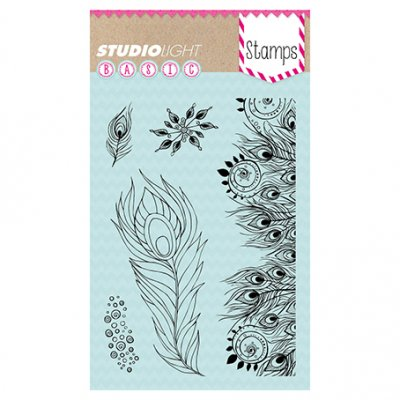 Studiolight stamp set: Feathers