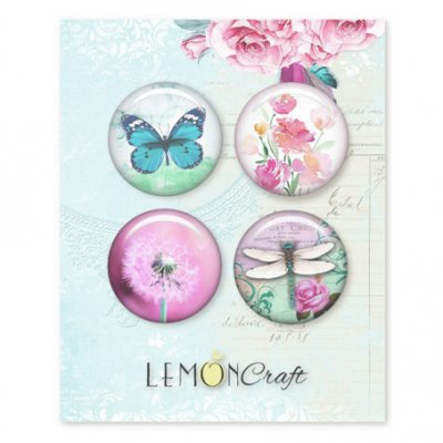 Flair embellishments (LC), 4 pcs - Daydream