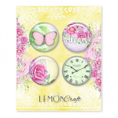Flair embellishments (LC), 4 pcs - Fresh Summer