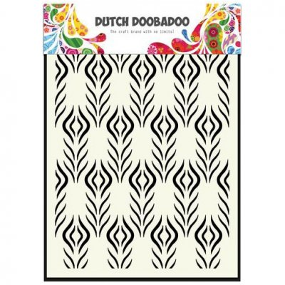 Dutch Doobadoo sabluuna: Floral Feather, A5