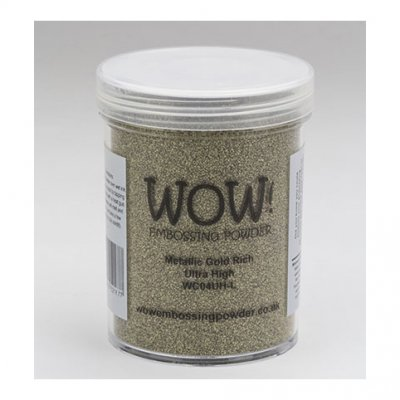 Wow! -kohojauhe 160ml:  Metallic gold (ultra high) - kulta