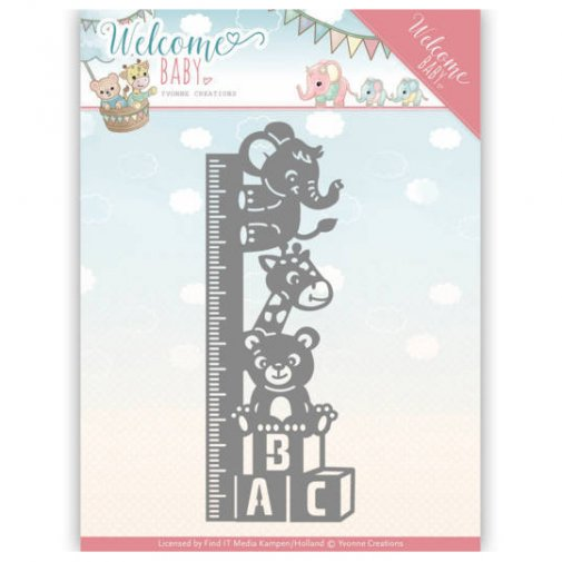 Yvonne Creations die: Baby growth chart