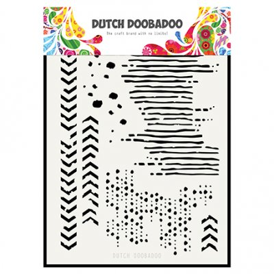 Dutch Doobadoo sabluuna: Grunge Mix, A5