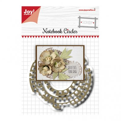 Joy Crafts -stanssit: Notebook circles - kehykset