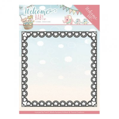 Yvonne Creations -stanssi: Heart Frame - kehys