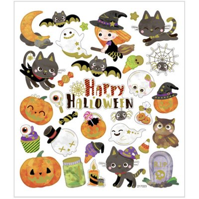 Sticker sheet: Halloween (C)