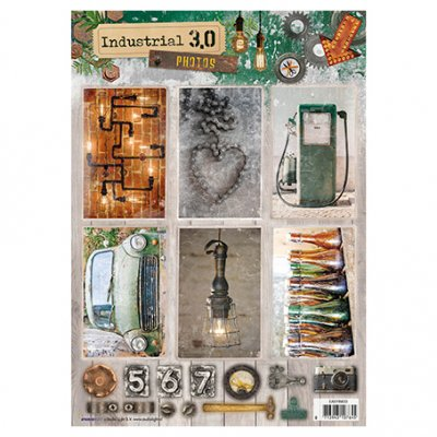 A4 Studiolight sheet: Industrial 3.0 (nr. 633)