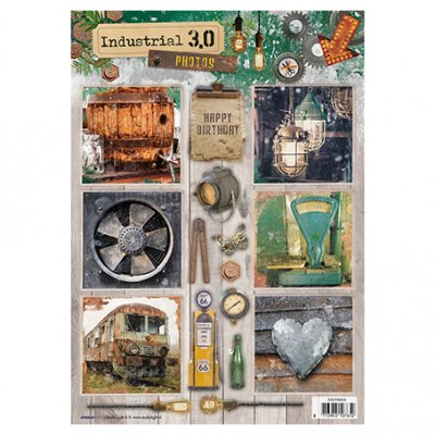 A4 Studiolight sheet: Industrial 3.0 (nr. 634)
