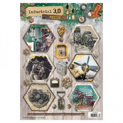 A4 Studiolight sheet: Industrial 3.0 (nr. 635)