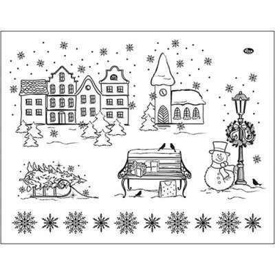 My Paperworld stamp set: Christmas / Winter