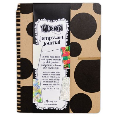 "Dylusions Creative Journal, 11.75""x9"" - Jumpstart"