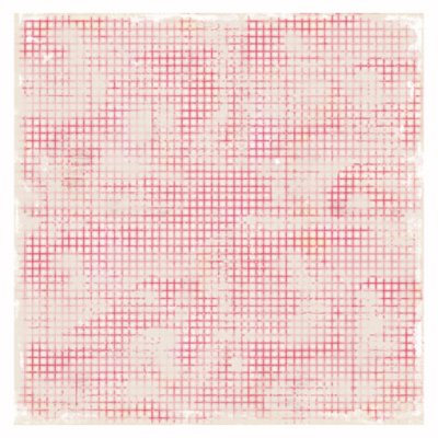 "Magnolia paper sheet 12x12"": Kitchen Cloth - red"