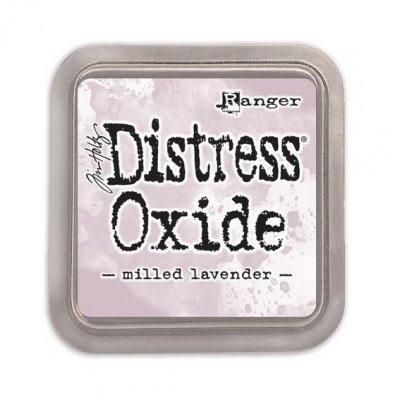 Distress Oxide -mustetyyny: Milled Lavender