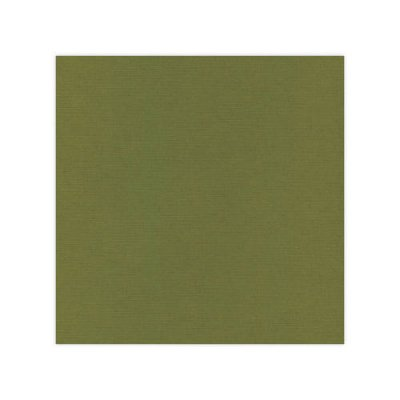 "Card Deco cardstock 12x12"":  moss green"