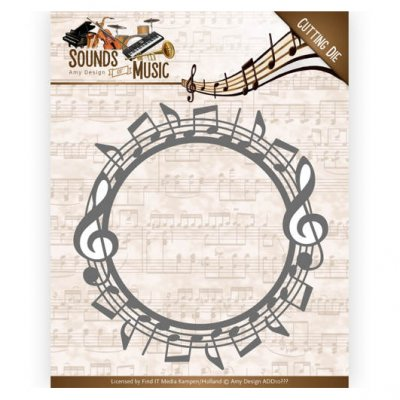 Amy Design -stanssi: Music Circle - kehys