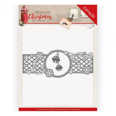 Amy Design -stanssi: Christmas bells border - boordi
