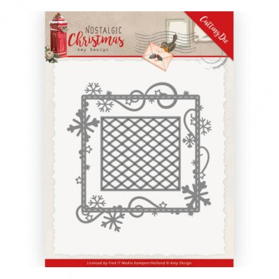 Amy Design -stanssit: Snowflake Frame