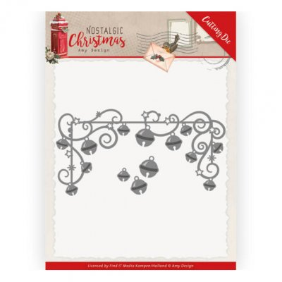 Amy Design -stanssit: Hanging Christmas bells