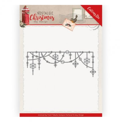 Amy Design -stanssi: Hanging Snowflakes