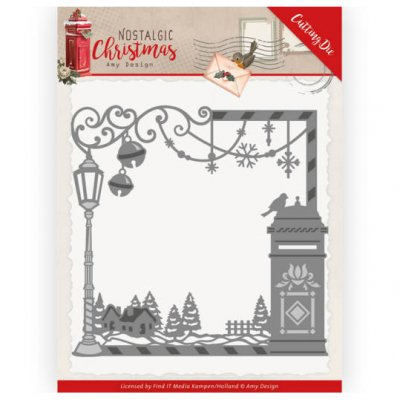 Amy Design -stanssi: Christmas Mailbox Frame