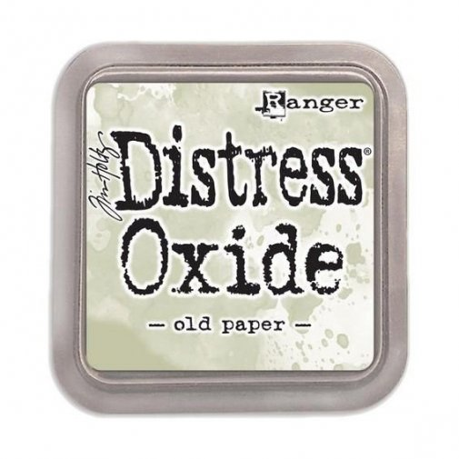 Distress Oxide -mustetyyny: Old Paper