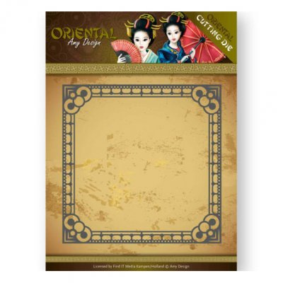 Amy Design -stanssi: Oriental Square Frame -kehys