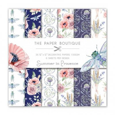 "Paper Boutique -paperikko 12x12"": Summer in Provence"